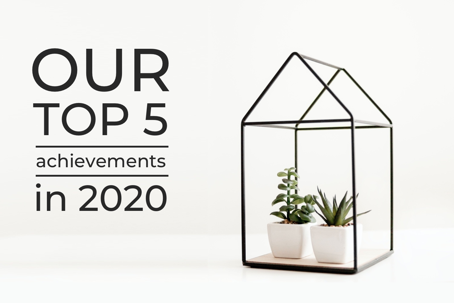 Top 5 achievements of Wequire in 2020